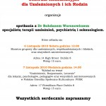 Uzaleznienia - spotkanie z dr Woronowiczem