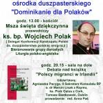 """5lecie Osrodka """"Dominikanie dla Polakow"""" 6 luty, 2011"""