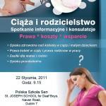Szkolenie dla rodzicow i kobiet w ciazy
