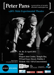 'Peter Pans' - Polish theatre show in the Project Arts Centre