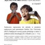 Zaproszenie Do Udziału W Badaniach Nad Językiem Polskim