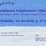 Christmas Carols with Polish Oplatek