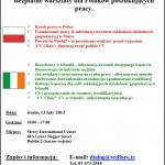 Bezpłatne warsztaty dla Polaków poszukujących pracy.