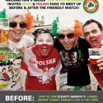 Invitation to Polish fans to meet Irish fans