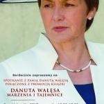 Spotkania z Panią Danutą Wałęsą, 6 pazdziernika