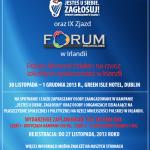 """Program IX Zjazdu Forum Polonia i Spotkania Podsumowującego Kampanię """"Jesteś u siebie, zgłosuj!"""""""