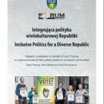 "Raport UCD i Forum Polonii ""Inclusive Politics for a Diverse Republic"""