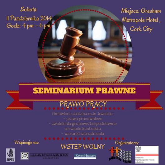 LEGAL SEMINARSeminarium Prawne POL