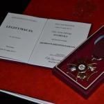 Wręczenie Srebrnego Krzyża Zasługi p. Irenie Sucheckiej