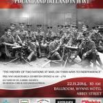 """Konferencja historyczna """"Polska i Irlandia w I Wojnie Światowej"""""""