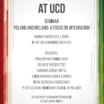 Poland and Ireland: a Focus on Integration seminar