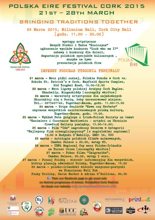 Poster PolskaEire Fest 2015