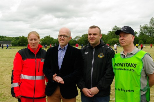 Katarzyna Michlic (Eventmed) Piotr Rakowski (Ambasada RP) Kieran McManus (Rineanna Rovers) Jim (Samaritans)