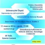 Kolejny wykład z cyklu Uniwersytet na Zielonej Wyspie już 11 marca