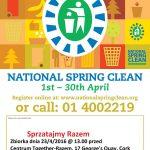 Włącz się w Narodowe Wiosenne Porzadki w Irlandii