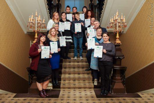 Uczestnicy trzeciej edycji szkoleń dla lokalnych liderów (październik 2016, Dublin). Fotografia - Michał Sendrak.