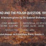 """ZAPROSZENIE: Irlandia a """"sprawa polska"""" – lata 1916-1918"""