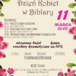 Święto kobiet w Biblary - zaproszenie