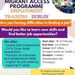 Migrant Access Programme - dla szukających pracy