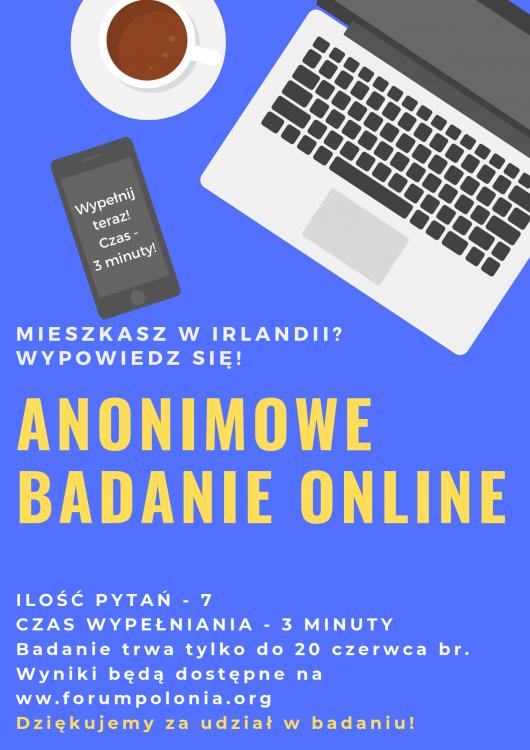 Anonimowa ankieta online